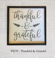 FS035 - Thankful & Grateful