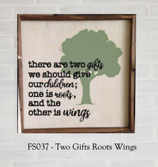 FS037 - Two Gifts Roots Wings