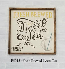 FS045 - Fresh Brewed Sweet Tea