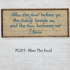 PL003 - Bless The Food