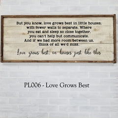 PL006 - Love Grows Best