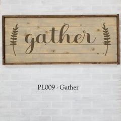 PL009 - Gather