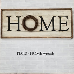 PL010 - HOME wreath