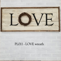 PL011 - LOVE wreath