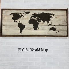 PL013 - World Map