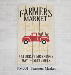 PM001 - Farmers Market