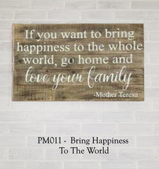 PM011 - Bring Happiness To The World