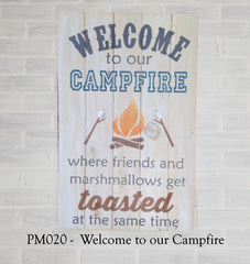 PM020 - Welcome to our Campfire
