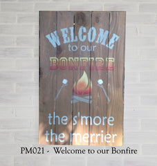 PM021 - Welcome to our Bonfire