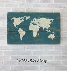 PM028 - World Map