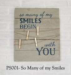 PS001 - So Many Of My Smiles