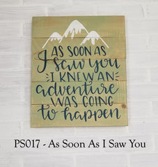 PS017 - As Soon As I Saw You