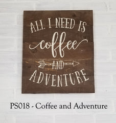PS018 - Coffee and Adventure