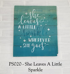 PS020 - She Leaves A Little Sparkle