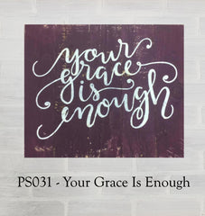 PS031 - Your Grace Is Enough