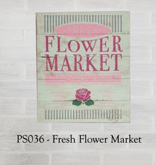PS036 - Fresh Flower Market