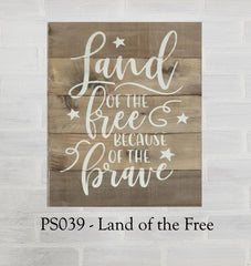 PS039 - Land of the Free