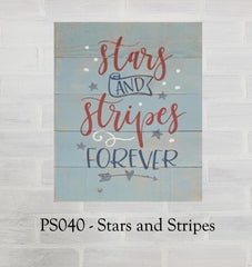 PS040 - Stars and Stripes
