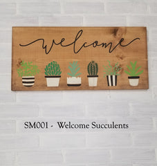 SM001 - Welcome Succulents