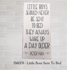 SM009 - Little Boys Sent To Bed