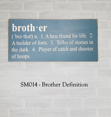 SM014 - Brother Definition
