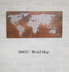 SM017 - World Map