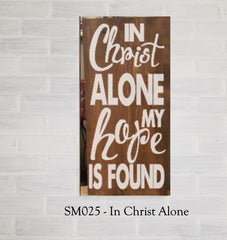 SM025 - In Christ Alone