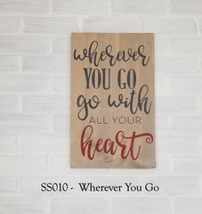 SS010 - Wherever You Go