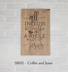 SS011 - Coffee and Jesus