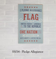 SS014 - Pledge of Allegiance