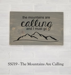SS019 - The Mountains Are Calling