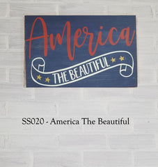 SS020 - America The Beautiful