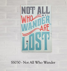 SS030 - Not All Who Wander