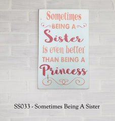 SS031 - Sometimes Being A Sister