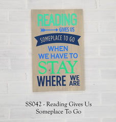 SS042 - Reading Gives Us Someplace To Go