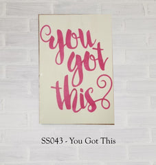 SS043 - You Got This