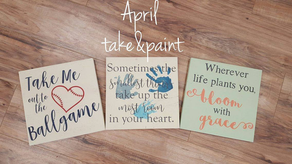 take&paint April