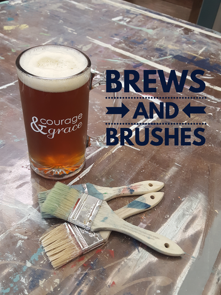 XXX Brews and Brushes Workshop O'Fallon