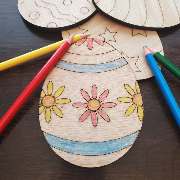 04/07 DIY Flat Egg Kit without paint O'Fallon Pick up 5:30 - 6:30 pm