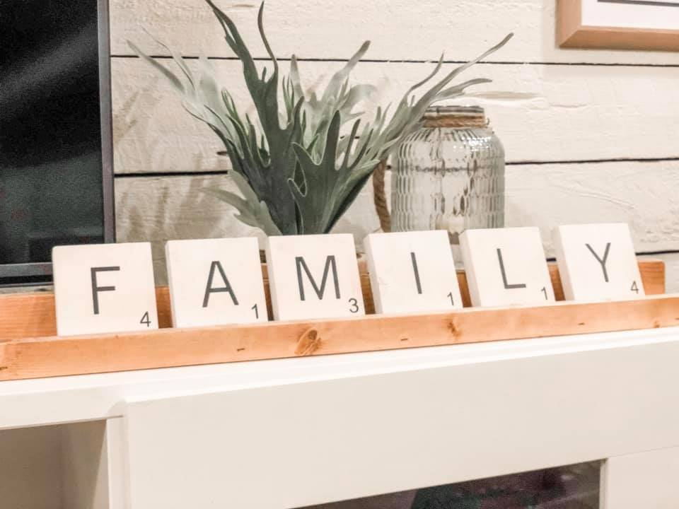 !!! Custom Scrabble Tile and Rack