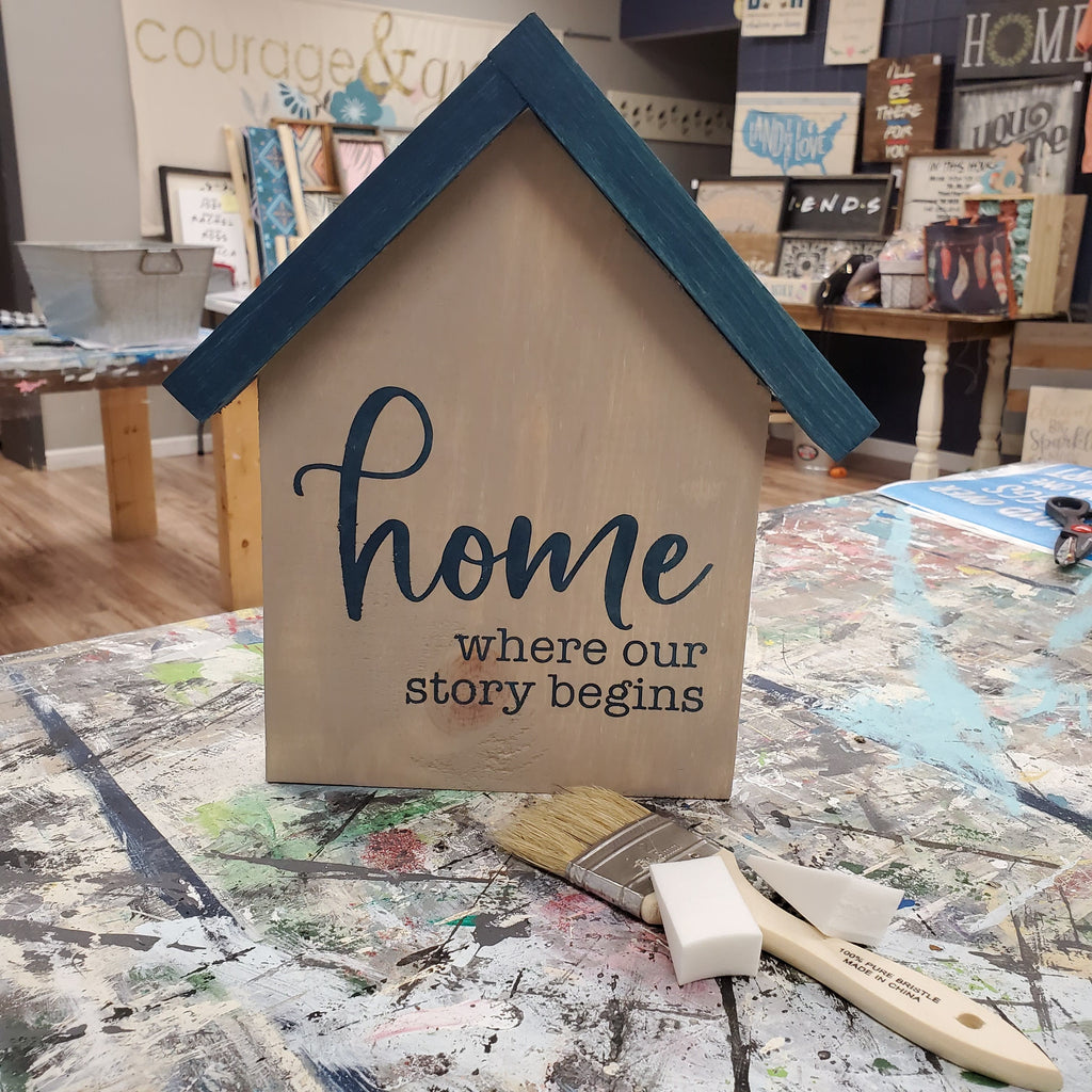 04/25 DIY Little Houses O'Fallon Pick Up 2 - 3 pm