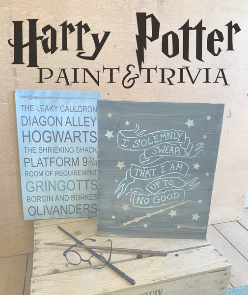 !!! Harry Potter trivia&paint