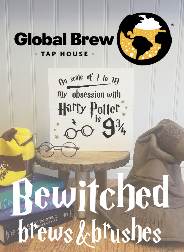!!! Bewitched Brews and Brushes at Global Brew Tap House