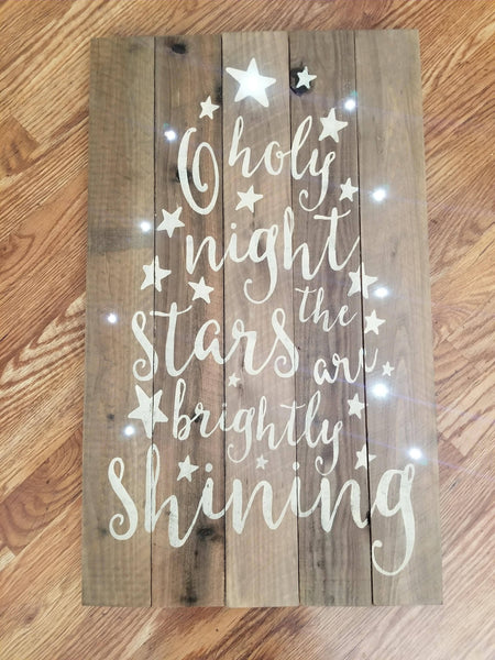 12/02 Lighted Christmas Signs O'Fallon