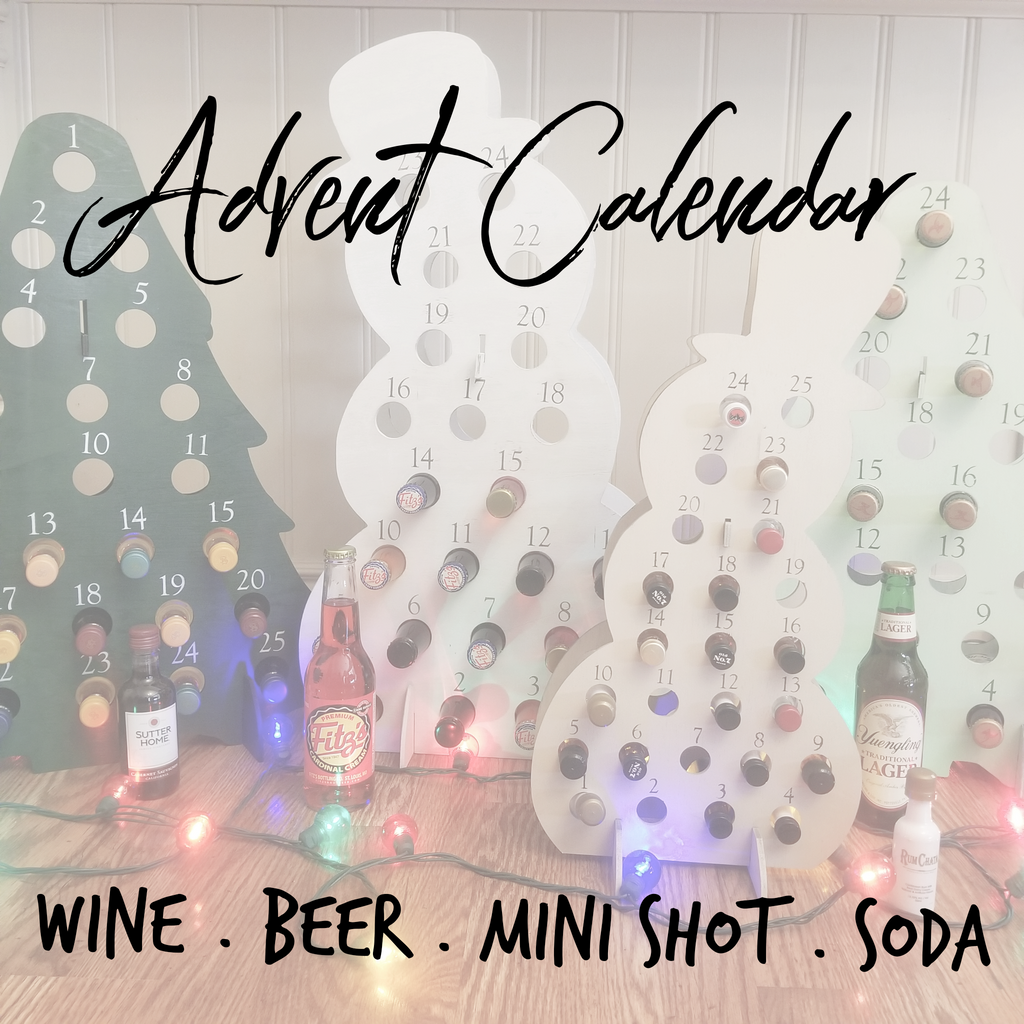 !!! Advent Calendar for Beer, Soda, Wine or Mini Shot