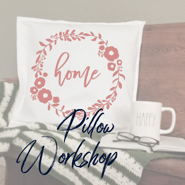 !!! Christmas DIY Pillow Workshop O'Fallon