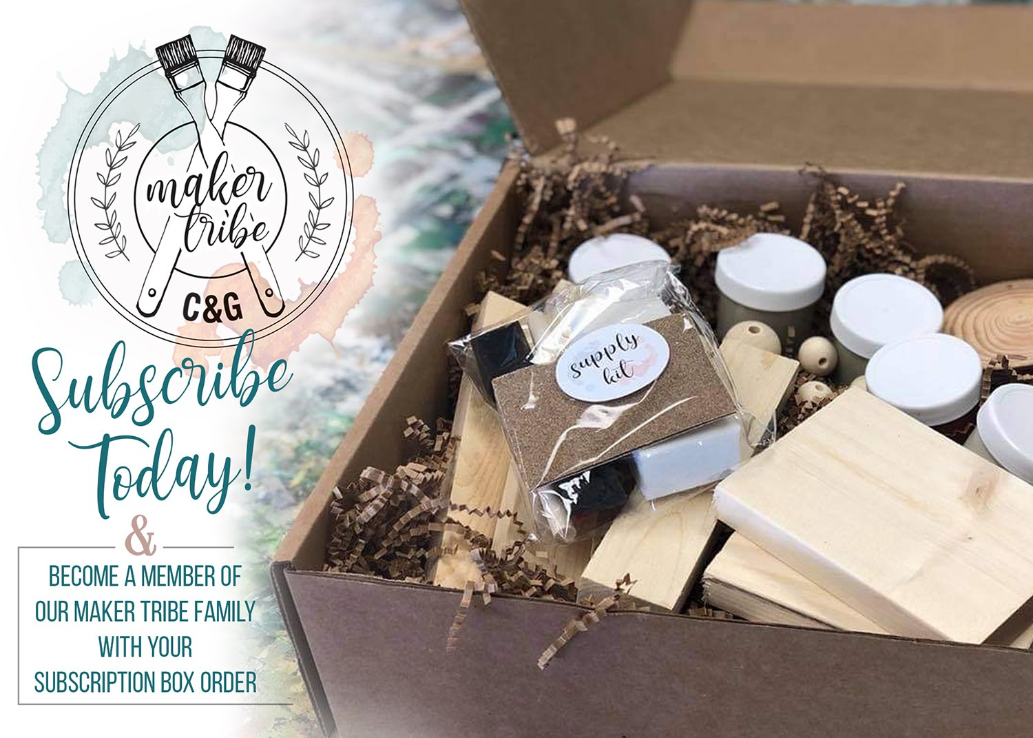 Maker Tribe DIY Subscription Box
