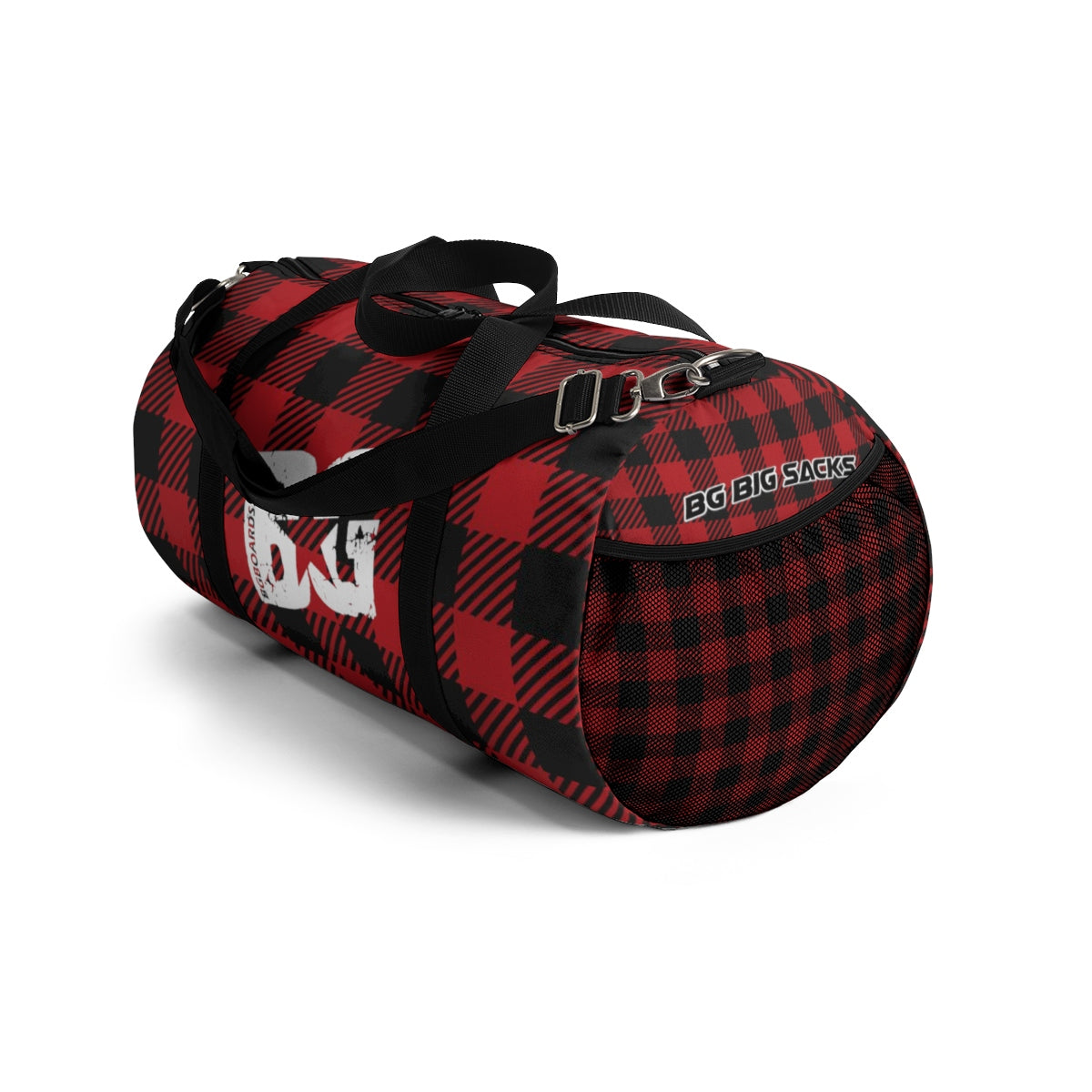 Red and Black Plaid BG Big Sack