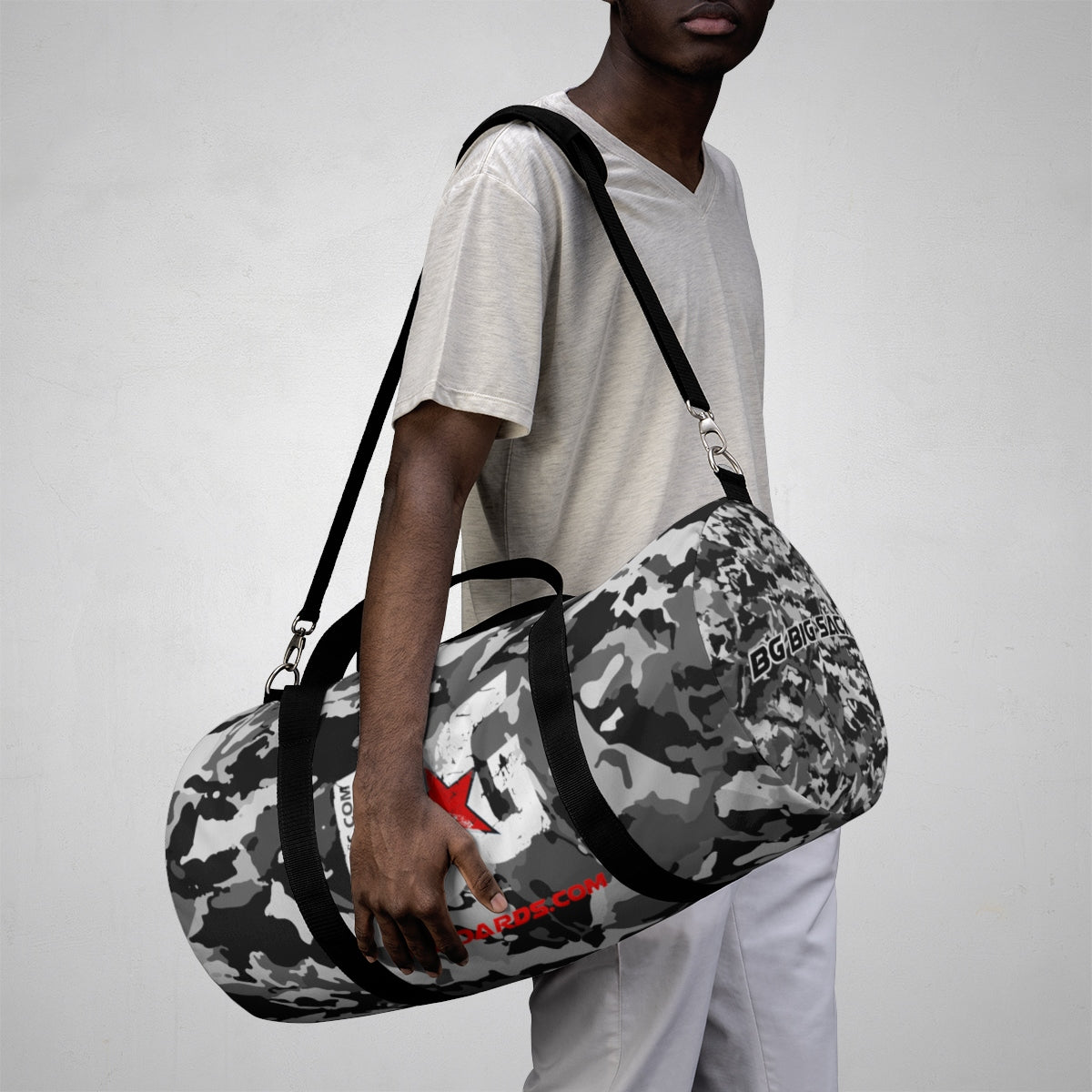 BG BIG SACK CAMO DUFFLE BAG