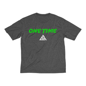 ONE TIME Men's Heather Dri-Fit Tee
